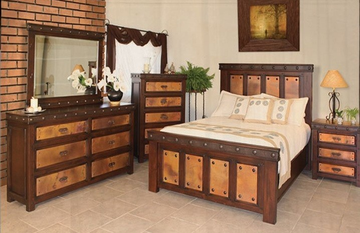 western bedroom sets. Western bedroom furniture sets  For those of you who have sufficient budgets and adequate room can choose as above Rustic Bedroom Furniture to Transform Your Home