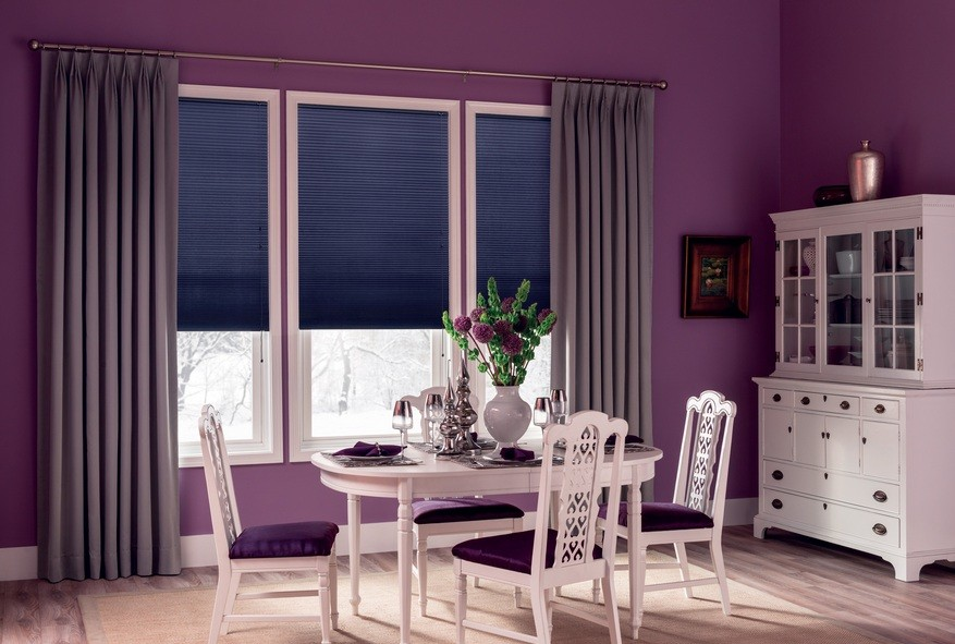 dining room window treatments ideas and types you might like home interiors. Black Bedroom Furniture Sets. Home Design Ideas