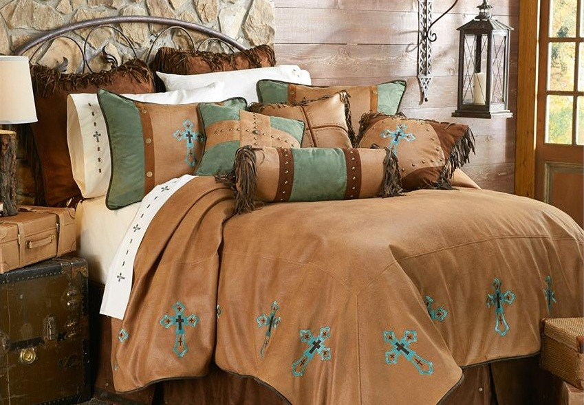 Rustic western bedroom furniture to transform your bedroom for Western style beds