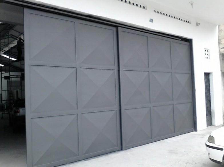 Sliding Garage Door Metal Design For Security Amp Aesthetic