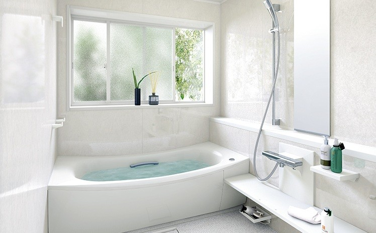 Frosted Glass For Privacy Bathroom Window Treatments