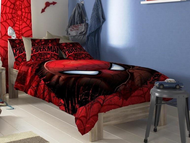 20 Spiderman Bedroom Ideas For Boys Room » Minimalist Spiderman Bedroom  Decor Ideas