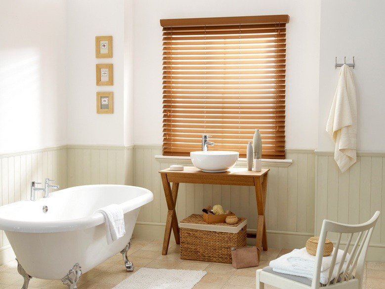 Privacy window treatments for the bathroom window home - Best blinds for bathroom privacy ...