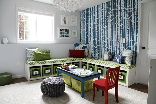 Comfy Playroom Seating Ideas For Your Kids Home Interiors