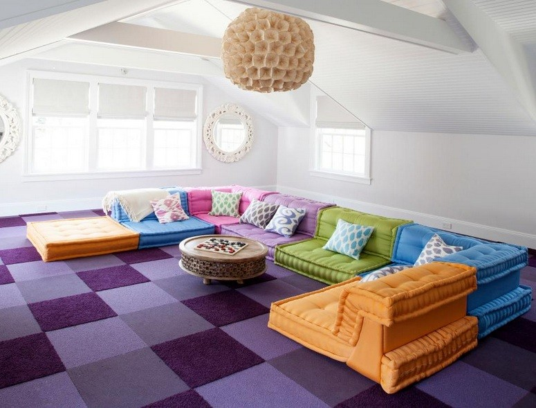 Comfy Playroom Seating Ideas for Your Kids | Home Interiors