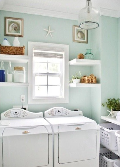 It Is Advisable To Go With White Cupboards (if You Decide To Add One In The  Room) And White Laundry Baskets. Together With The White Shelves, ...