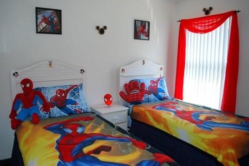 20 Spiderman Bedroom Ideas For Boys Room » Spiderman Bedroom Ideas With  Spiderman Twin Beds
