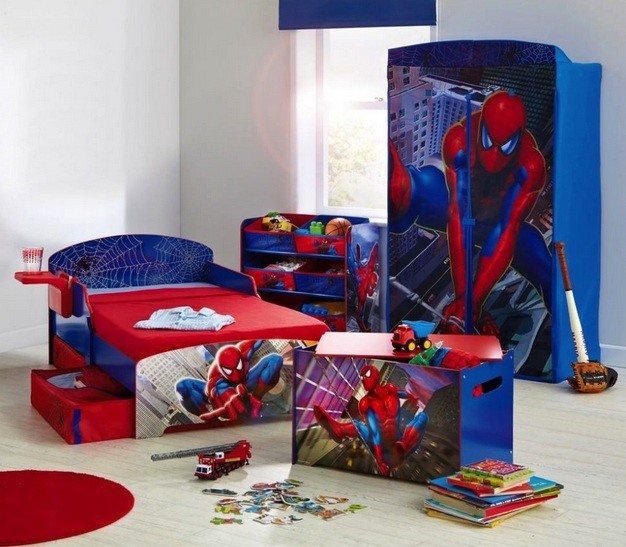 Spiderman Wallpaper For Bedroom: 20 Spiderman Bedroom Ideas For Boys Room