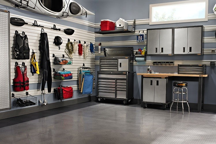 Highly Efficient And Space Saving Garage Layouts Home