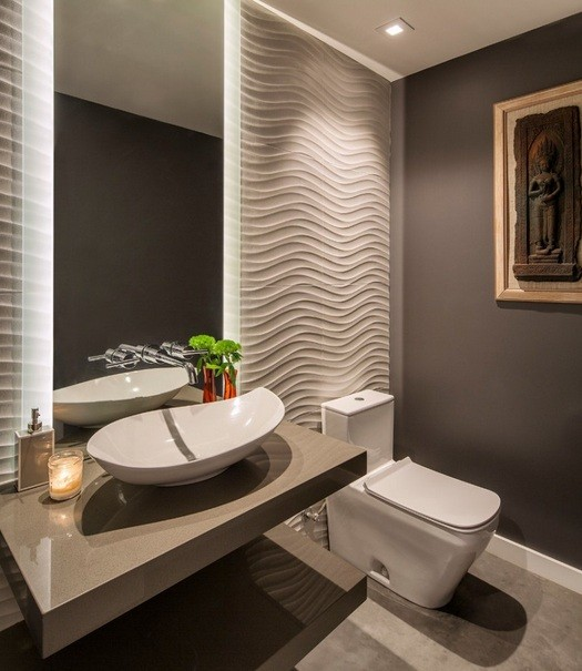 Color Choices For Home Interiors: Small Half Bathroom Remodel Ideas That Can Inspire You