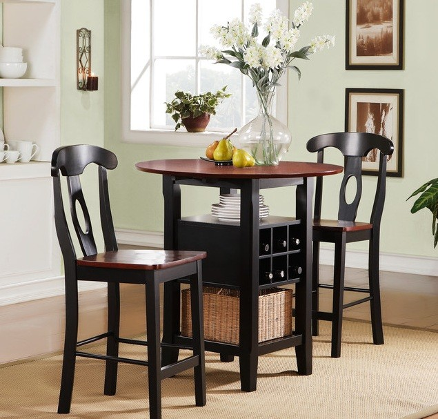 Small Kitchen Tables With Storage: Small Kitchen Table Design For Perfect Small Space