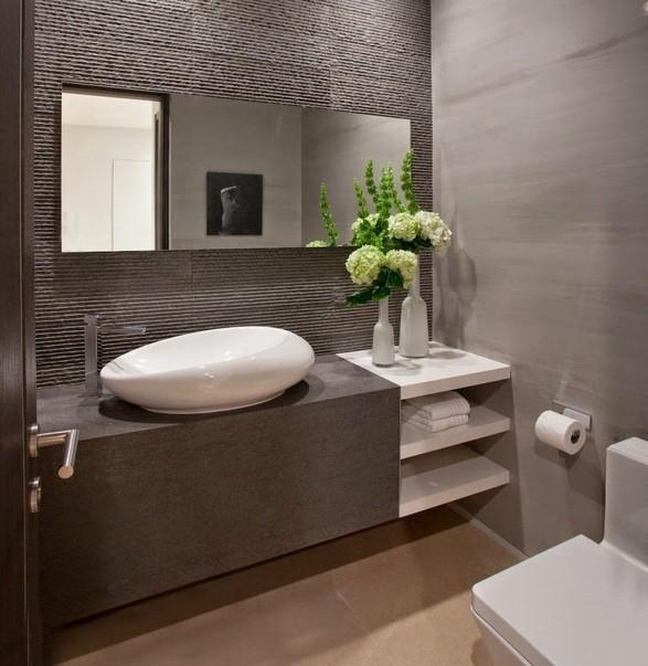Small half bathroom remodel ideas that can inspire you - Small half bathroom layout ...
