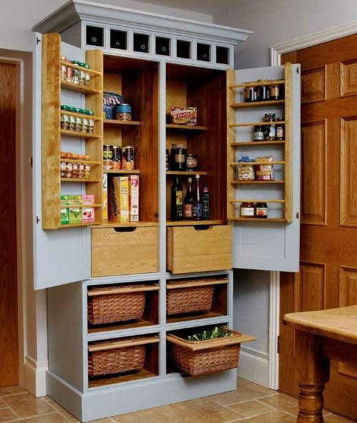 Freestanding Pantry Plans For Your Kitchen