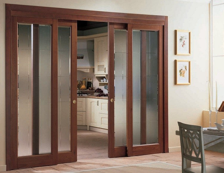 Interior Sliding French Doors With Frosted Glass Panels Home Interiors