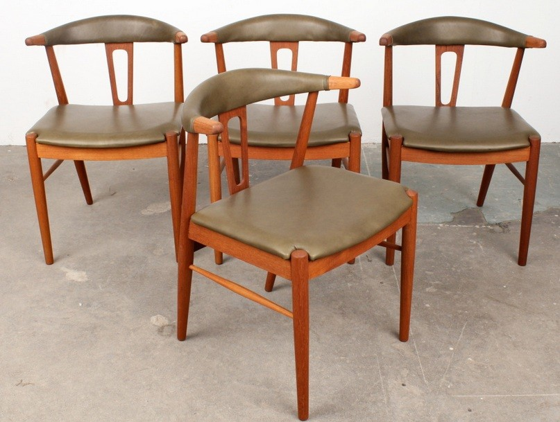 Low back Leather Dining Chairs Design for Any Dining Room ...