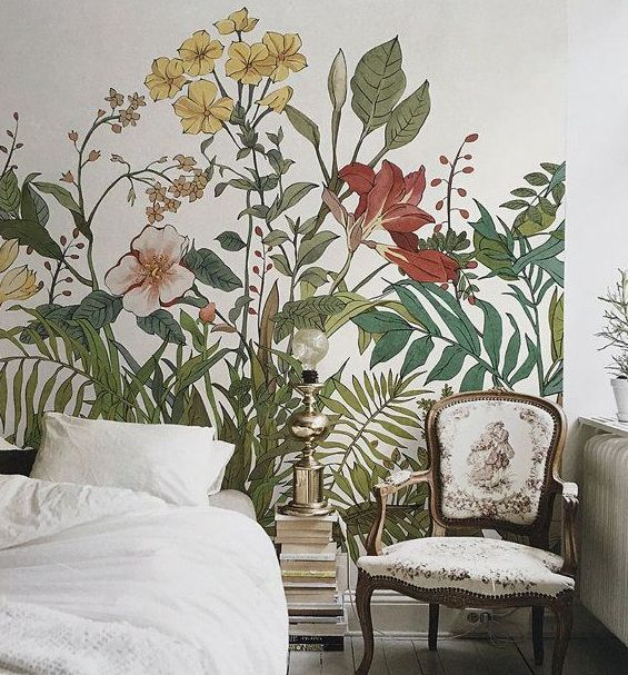 Botanical Themed Bedroom To Freshen Up Your Bedroom Home