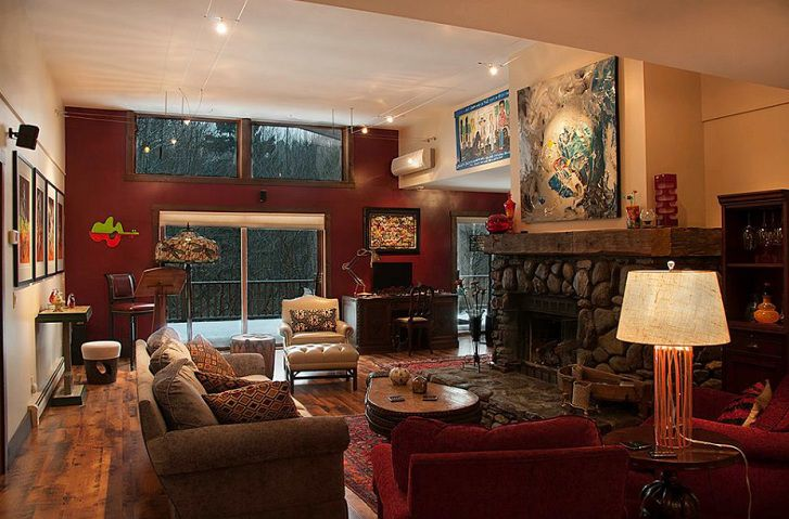 Beau Maroon Living Room Ideas For Rustic Home Style