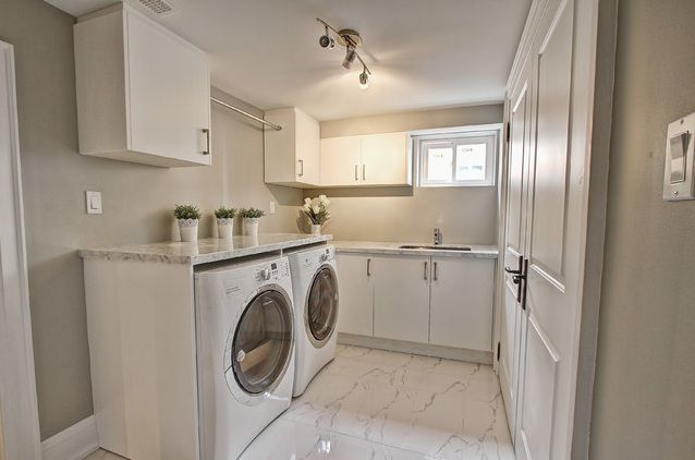 19 L Shaped Laundry Room Design That Functional And Cozy