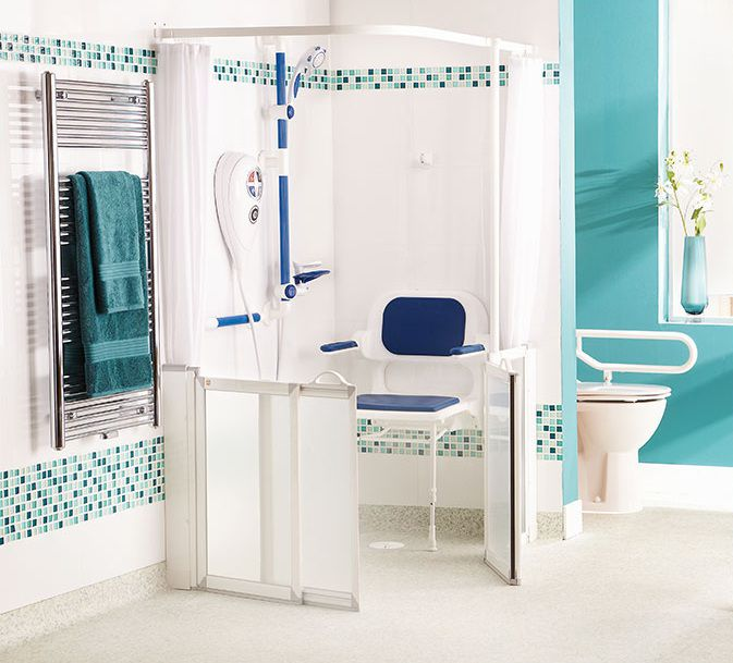 Home Design Ideas For Seniors: Walk In Shower With Seat For Elderly That Will Inspire You