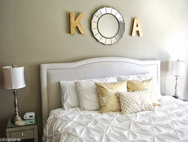 Home interiors home interior design - Above the headboard decorating ...