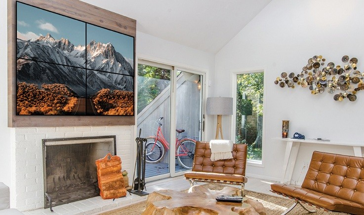 Great ways to use video walls in your home