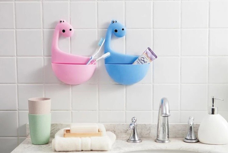 Dinosaur Toothbrush Holder Ideas