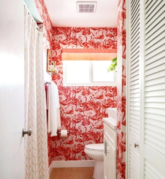 Flamingo Bathroom Decor Accessories for Your Teen Girl