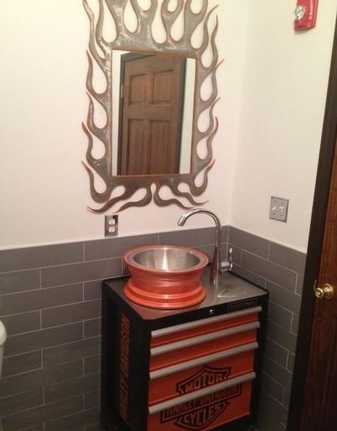 6 Harley Davidson Bathroom Decor