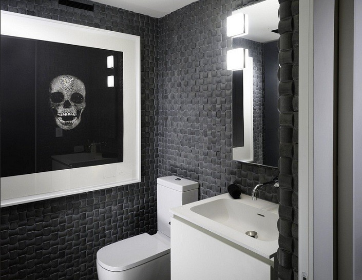 Skull Bathroom Decor for Fun and Entertaining Decor
