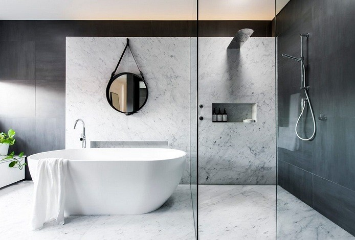 Grey and White Bathroom Ideas to Make Your bathroom Look More Sophisticated