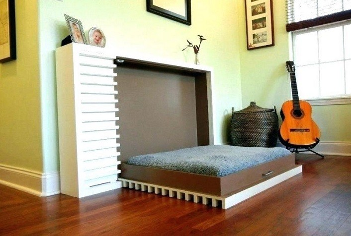 DIY Horizontal Murphy Bed Without Kit and Design Inspiration