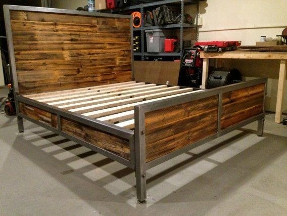 16 Effortless Bed Frames Homemade That You Can Make