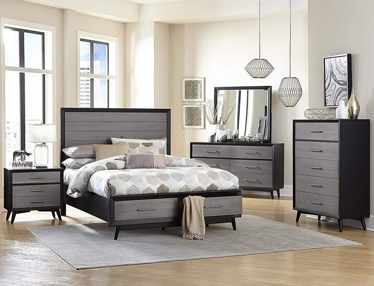 14 Design Of Mid Century Modern Bedroom Sets To Improve Your Bedroom Style Home Interiors